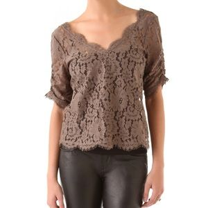 Joie Nevina Lace Top